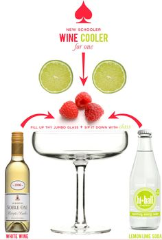 delicious looking wine coolers