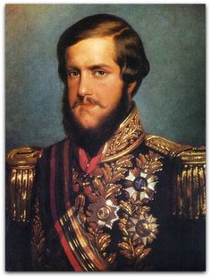 Dom Pedro II, Imperador do Brasil, em 1850. François René Moreaux (1807-1860) Museu Imperial. Rio de Janeiro  http://sergiozeiger.tumblr.com/post/107114536548/francois-rene-moreau-moreaux-rocroi-franca-3