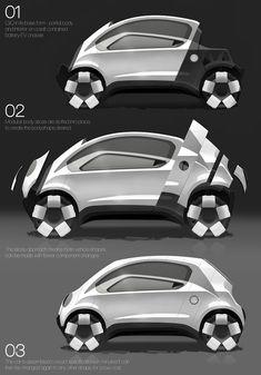 Land Rover CliQ - Concept Car by Thomas Gilbert » Yanko Design