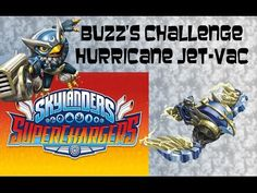 Skylanders Superchargers - Buzz's Challenge Jet-Vac