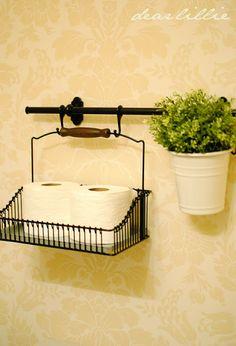 basket from IKEA ~ from Dear Lillie blog