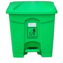 Buy online two wheeled pedal garden green #dustbins from mycleaningstore.in and you can also purchase kitchen and outdoor dustbins at best price in Delhi - India. #onlineshopping #dustbinonline #mycleaningstore