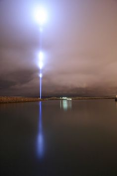IMAGINE PEACE TOWER built by Yoko Ono in honour of John Lennon