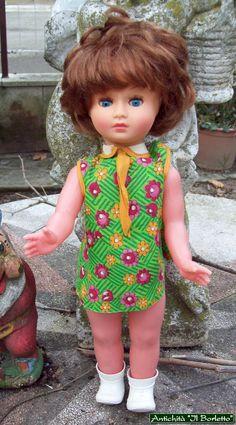 Bambola senza marchio - h.cm 40 - mia collezione.