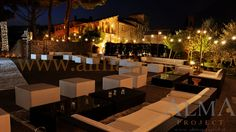 ALMA PROJECT @ Borgo San Felice - Bulbs Lighting - lounge area - Trees -  perimeter - 8