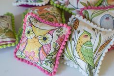 Easy Peasy Pincushions with Baby Pom-Poms — SewCanShe | Free Daily Sewing Tutorials