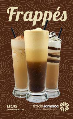 Frappes by Flor de Jamaica Pudding, Desserts, Food, Tailgate Desserts, Deserts, Eten, Puddings, Postres, Dessert