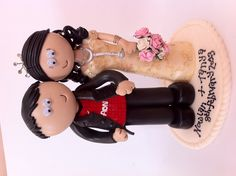 Manchester United loving Groom and doctor Bride.
