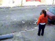 The Present. Inner City Curb ball. Playin Curb Ball Bored. The video show two inner city kids playing curb ball on the the narrow streets. The game is competitive and the game is a little intense. (Excuse the language in the video)