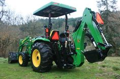 2007 John Deere 4720 Tractor Loader & Backhoe