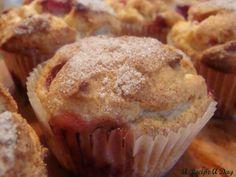 Fresh Strawberry Muffins | A Recipe A Day