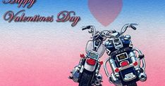 Valentine's Day and every day! My Funny Valentine, Happy Valentines Day, Harley Davidson Decals, Harley Davidson Trike, Biker Chick, Biker Girl, Biker Quotes, Biker Sayings, Motorcycle Art