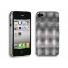 iPhone 4(S) Hoesje Diamant - Zilver gratis Bestellen!