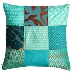 Kussen Collection ~:~ Turquoise Beauty
