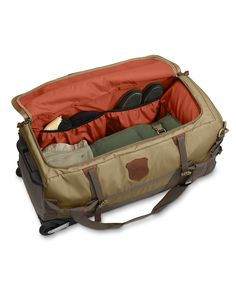 Adventurer® Large Rolling Duffel Bag | Eddie Bauer