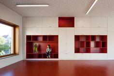 Elementary School in Berlin - built-in storage/furniture.