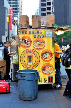 53rd and 6th Halal Cart - New York City by cathydanh, via Flickr