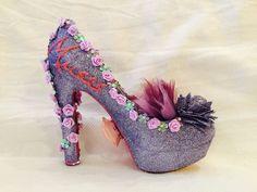 Muses 2016 Mardi Gras parade shoe.