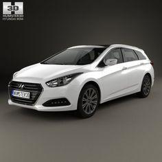 Hyundai i40 wagon 2015 3D Model .max .c4d .obj .3ds .fbx .lwo .stl @3DExport.com by humster3D