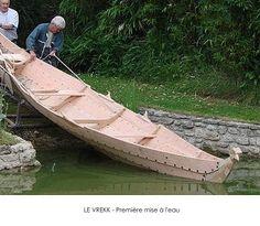 Le VREKK - Première mise à l'eau