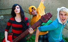 Adventure Time cosplay ^_^