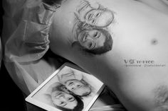 #tattoo #art #ink #inked #portrait #realistic #face #family #family_portrait #3d #inspiration #china #harbin #Vtattoo