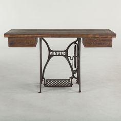 Industrial Loft Sewing Desk
