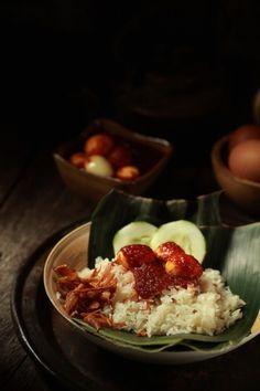 masam manis: Nasi Lemak Sempoi dan Sambal Telur Puyuh