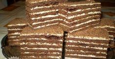 Túrós gúla - MindenegybenBlog Hungarian Cake, Hungarian Recipes, Torte Cake, Cake Bars, Cookie Recipes, Dessert Recipes, White Cakes, Salty Snacks, Sweets Cake