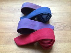 Denim slim ties. All made in Europe, shipped worldwide by FedEx. www.artisara.com