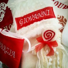 Calze Befana personalizzate! !! Handmade with love ♥♡♥