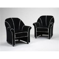 Andre Putman lounge chairs for the Morgans H