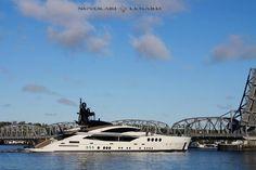 "Door County's latest build.  A Palmer Johnson 210"" Nevolari Lenard yacht"