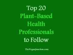 // If you're new to the plant-based movement, or if you're just interested in who else is out there sharing the message of health, here are some of the top plant-based health profession…