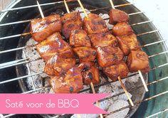 Familie-recept: Saté voor op de BBQ Bbq Marinade, Barbecue, Tandoori Chicken, Chicken Wings, Meat, Dinner, Vegetables, Cooking, Ethnic Recipes