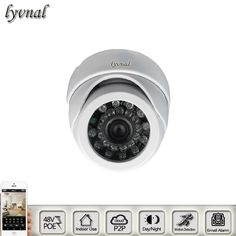 HD IP Camera POE Indoor use 1080P ONVIF POE Dome Night Vision CCTV Surveillance Camera  Security Camera ONVIF P2P 720P Camera #Affiliate