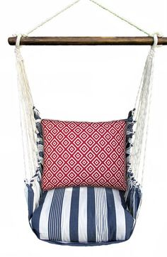 Magnolia+Casual+Marina+Stripe+Swing+Chair+available+at+#Nordstrom