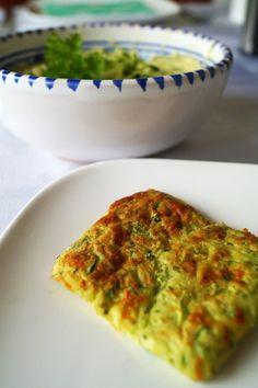 gourmetrecept: glutenvrij courgette koekjes