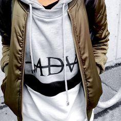 Insta: @xxnancii   Urban fashion, women's fashion, streetwear, bomber, joggers, vans sk8 hi, manieredevoir