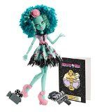 Monster High Toy - Frights Camera Action Hauntlywood - Honey Swamp Deluxe Fashion Doll