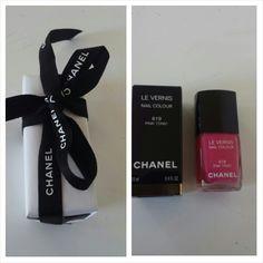 chanel nail color pink tonic