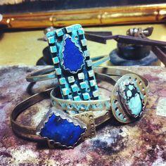 Lapislazuli Bracelets #uraik #handcrafted jewelry ❤❤❤