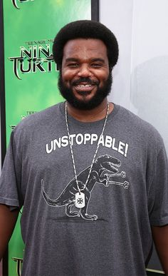 Craig Robinson at the TMNT Red Carpet Premiere! #sp » This man cracks me up!