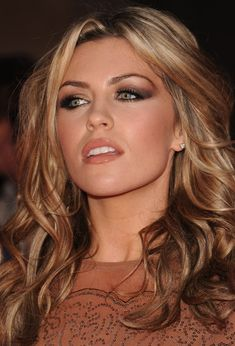 Smokey eyes and nude lips, a classic and favorite look. Perfect for Vegas?