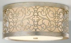 Ava Flush Mount  This Ceiling Mount Lighting Fixture Brings a Sleek and Chic Appeal to Any Space.  Item # 07653 $239