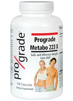 Prograde Metabo 223 X - 120 Capsules *** You can get more details here : Weight loss Supplements