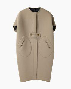 Neoprene Cocoon Coat |  ZERO + MARIA CORNEJO