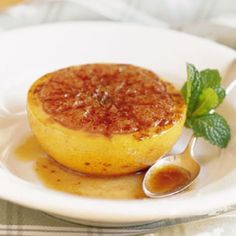 Broiled Grapefruit- sauce tastes like a cinnabon. Mix of sweet and tart is amazing!