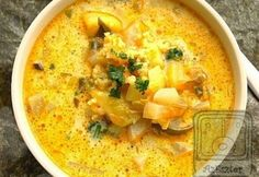 Cheeseburger Chowder, Thai Red Curry, Paleo, Food And Drink, Ethnic Recipes, Soups, Diet, Beach Wrap, Soup