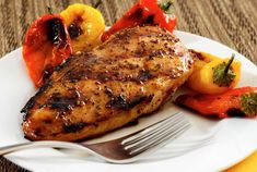 Easy paleo glaze to add a great combo of savory and sweet to your next grilled meal. Brush on liberally during grilling, and turn chicken often for best results.